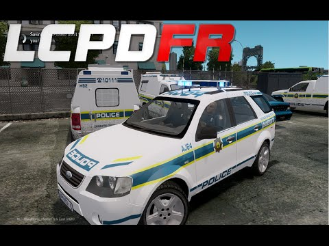 GTA IV : LCPDFR 1.0 - South African Police Service