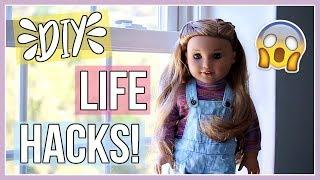 DİY AG DOLL HAYAT KESMEK! Bilmeniz gereken | Amerikan Kız Bebek Hayat Kesmek!