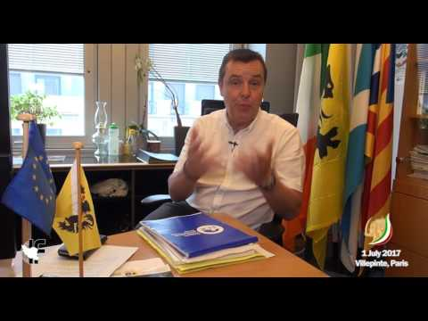 Message of  Mark Demesmaeker, the member of the European Parliament from Belgium