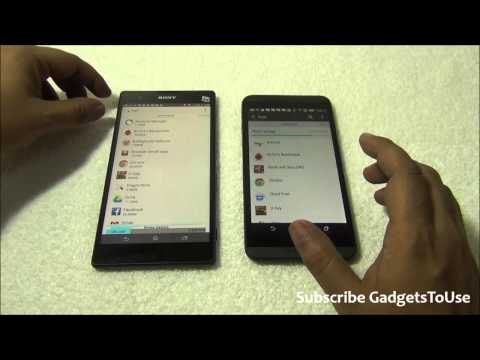 HTC Desire 816 VS Xperia T2 Ultra Comparison, Form Factor, Camera, Display, Benchmarks and Overview