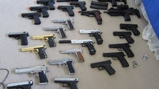 Huge Airsoft Gas Blowback Collection (Over 25 Guns)