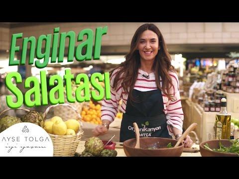 Ayşe Organikanyon'da! I Enginar Salatası Tarifi | Ayşe Tolga İyi Yaşam