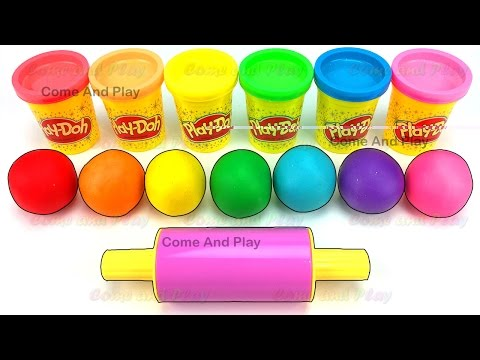 Thumbnail: Learn Colors Play Doh Balls Ice Cream Pororo Disney Frozen Mickey Mouse Paw Patrol Surprise Toys