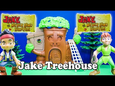 Unboxing the Jake and the Neverland Pirates Peter Pan Tiki Tree House