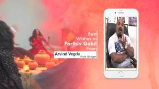 Arvind Vegda wishes for GARBO