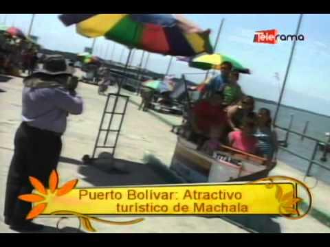 Puerto Bolívar Atractivo turístico de Machala