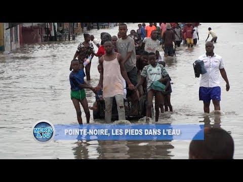 Pointe-Noire Dans L'Eau | Déluge | | République du Congo – Afrique Centrale