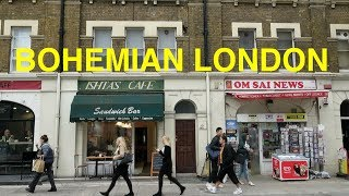 Bohemian London - stroll through Fitzrovia and Bloomsbury