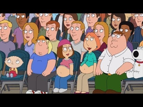 Family Guy - Meg And Lois Get Pregnant