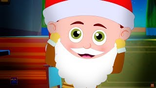 Santa Claus Down The Chimney | Christmas Songs For Kids | Schoolies Sing Christmas Carols