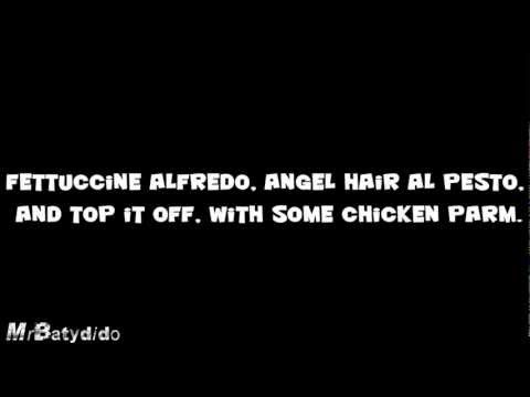 Lady Gaga - Lady Pasta parody with lyrics (annoying orange)