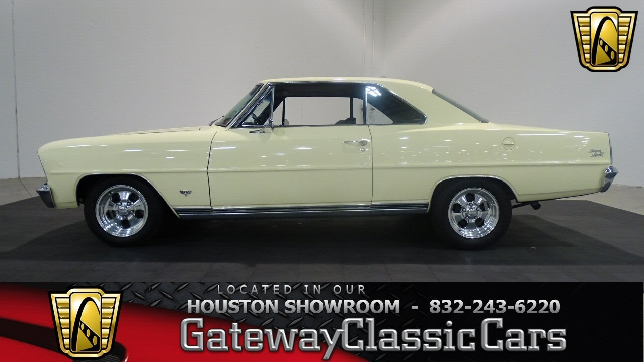 Chevrolet Nova Gateway Classic Cars Houston Showroom
