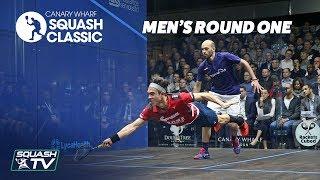 15th Canary Wharf Squash Classic 2018 - Rd 1 Roundup [Pt.1]