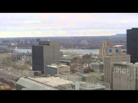 Downtown Montreal - Partial View From High Rise Building