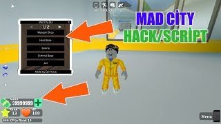 💙ROBLOX MAD CİTY PARA HİLESİ [Mad City GUI / SCRIPT] - ADMIN PANEL, KILL ALL & UNLIMITED MONEY💙