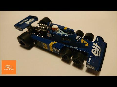 Scalextric Tyrrell P34 Legends setup improvement