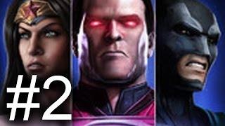 Injustice: Gods Among Us Mobile Multiplayer SECOND BATTLE