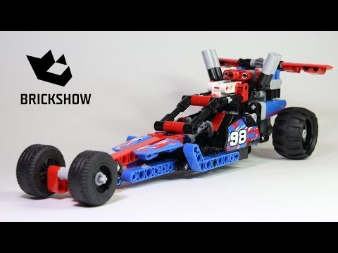 Lego Technic 42010 42011 Dragster Build Review Youtube