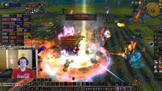 World of Warcraft | Sodapoppin vs gankers