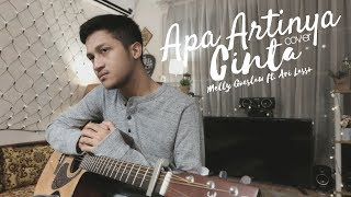APA ARTINYA CINTA  -  MELLY GOESLAW FT. ARI LASSO ( COVER BY ALDHI ) | FULL WITH LYRIC