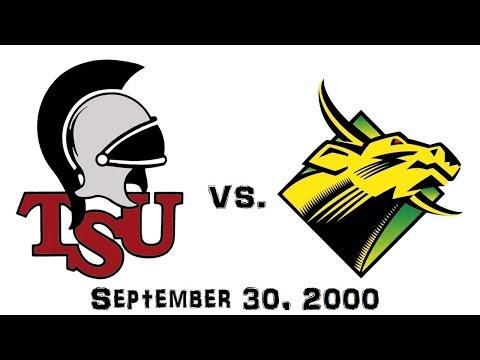 September 30, 2000 - #1 Troy State Trojans vs. South Florida Bulls Full Football Game