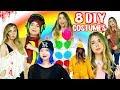 8 DIY LAST MINUTE HALLOWEEN COSTUMES! CHEAP & EASY IDEAS!