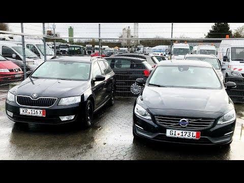 Свежая SKODA OCTAVIA под ключ и покупка VOLVO V60 с клиентом. Авто из Германии