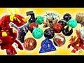 BRINQUEDOS DE BAKUGAN: Minha Coleção de Bakugans Guerreiros da Batalha! Drago e mais (爆丸 バトルブローラーズ)
