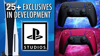 Over 25 PS5 Exclusives In Development (Half Are New IP) | New DualSense Colors. - [LTPS #465]