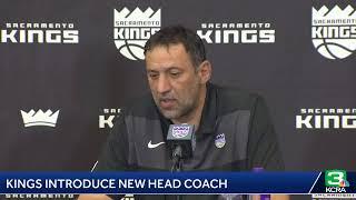 The Sacramento Kings are introducing new head coach Luke Walton. Read more at: bit.ly/2v3ySpV