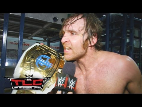 New Intercontinental Champion Dean Ambrose pays homage to past champs: Dec. 13, 2015