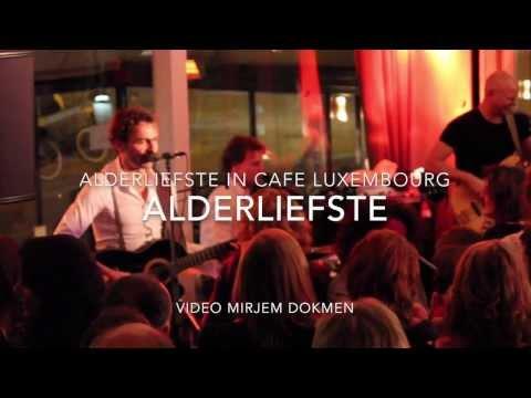 Alderliefste in Cafe Luxembourg