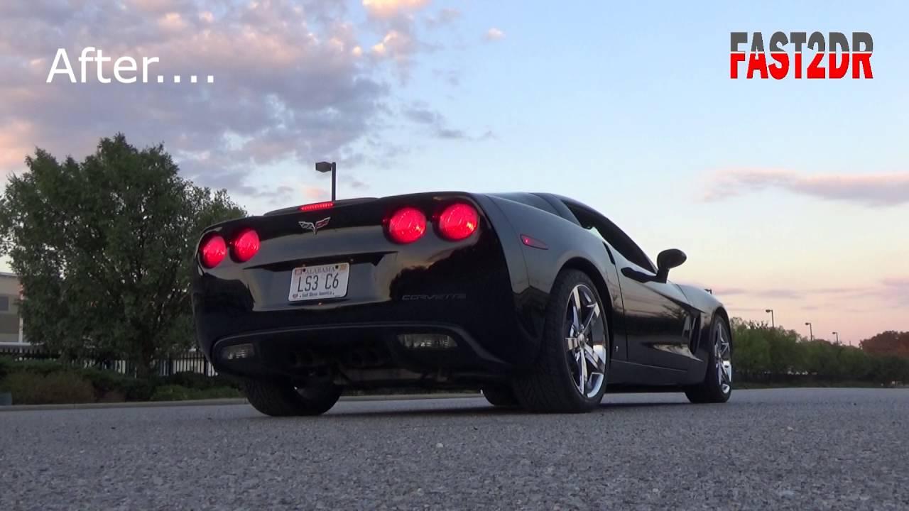 FAST2DR - LS3 C6 Corvette Kooks Headers X pipe Full Exhaust
