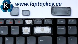 Instalation Guide how to install fix repair key in keyboard DELL 17R 3750 N7110 L702X