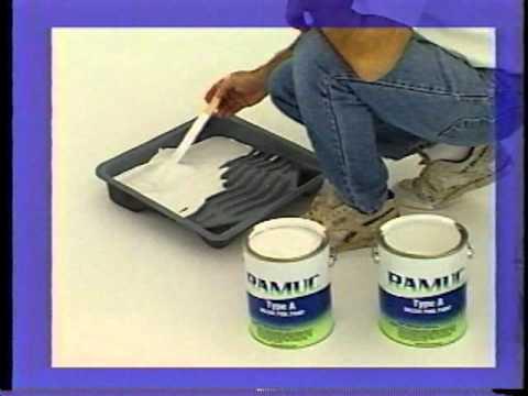 Ramuc Pool Paint Application - AmeriMerc.com