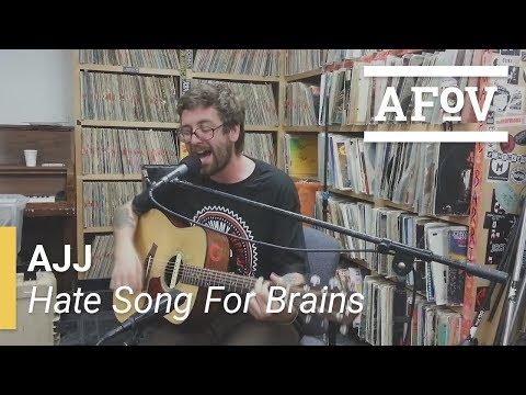 AJJ - Hate Song For Brains | A Fistful Of Vinyl