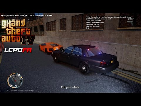 GRAND THEFT AUTO IV - LCPDFR - 1.0D - EPiSODE 20 - NYPD UNMARKED HIGHWAY PATROL