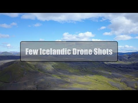Few Drone Shots | Iceland | Mavic Pro | DMD Designs