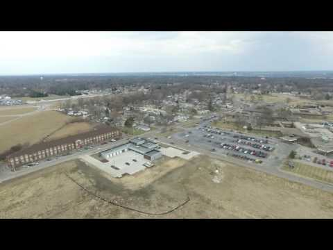 Phantom 3 Over East Moline and Silvis, IL
