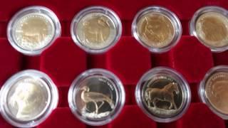 Колекція монет - Фауна Турція / Коллекция монет - Фауна Турция