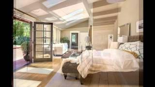 Стильные спальни, окна в спальне