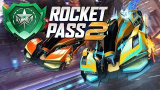 Every Item In The Rocket Pass 2 (Rocket League Update!)