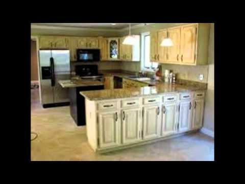 Distressed kitchen cabinets youtube for Kitchen cabinets 60056