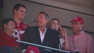 DWIGHT CLARK:  49ers hold emotional ceremony for Dwight Clark who is battling ALS Free HD Video