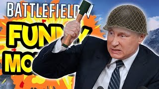 Battlefield 5 Funny & Random Moments [FUNTAGE] #1 - FOR MOTHER RUSSIA!