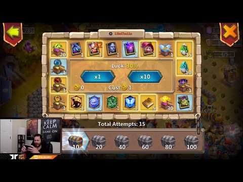 300,000 FAME From ONE PACK With INSANE EVENTS Castle Clash