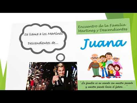 Invitación encuentro Flia Martinez - 1er Encuentro - Paraguay