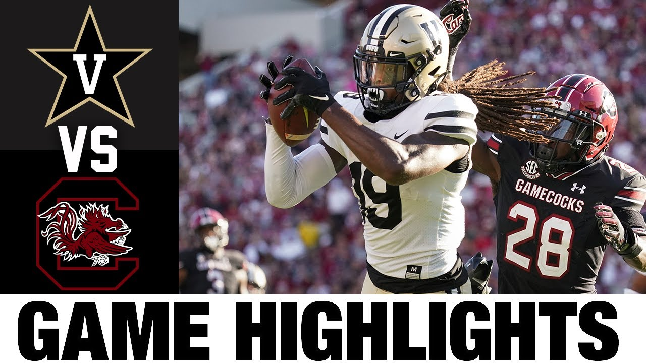 Vanderbilt vs South Carolina   Week 7   2021 College Football