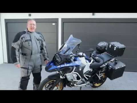 Breaking in the new BMW R1250 GS Adventure on the back roads of Germany