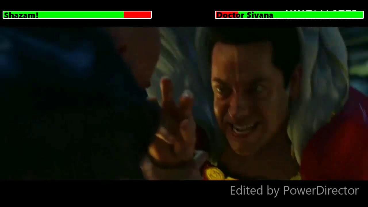 Download Shazam vs. Doctor Sivana (Final Fight) with healthbars